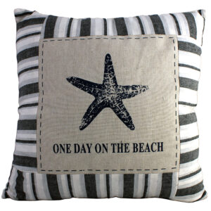 One day on the beach cushion