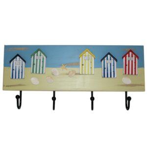 15282 Beach Hut Wall Hooks