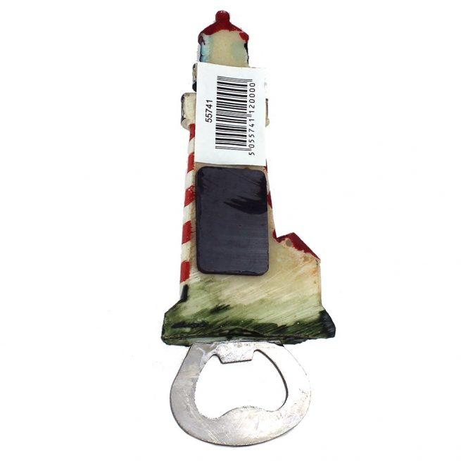 55741 lighthouse bottle opener back