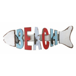 Beach Coat hooks fish shaped