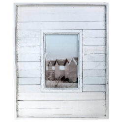 Beach Hut Photo Frame