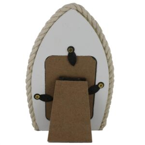 Boat Photo Frame with Steering Wheel Back