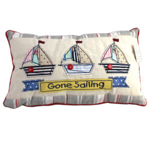 Gone Sailing Cushion Front