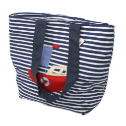 Nautical Striped Carry Bags