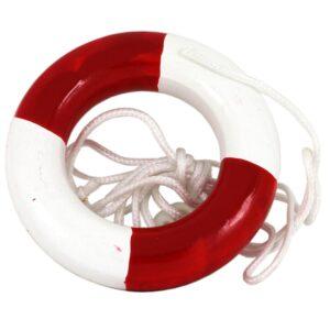 Red Life Ring Light Pull