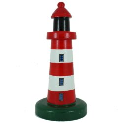 red white striped lighthouse