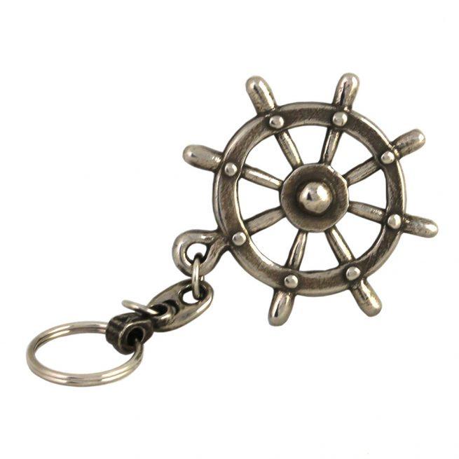 Ships Helm Wheel Keyring