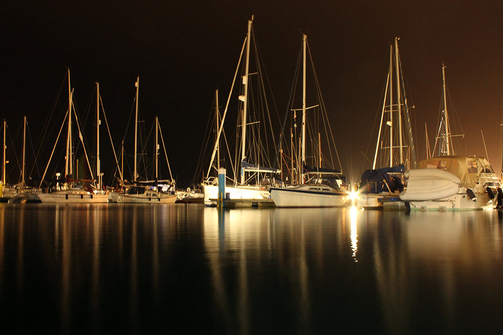 Yarmouth by Night