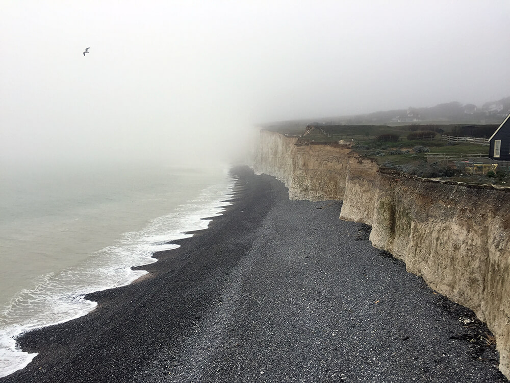 The sea at Birling Gap