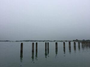 Bosham Chichester Harbour Sea Views wooden groynes