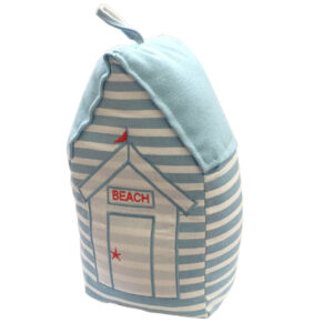 4309 light blue beach hut door stop