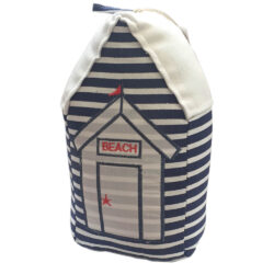 4309 navy blue beach hut door stop