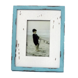 Blue Rustic Photo Frame