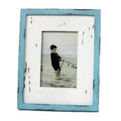 Blue Rustic Photo Frame