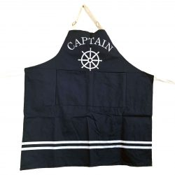 Navy Blue 'Captain' Apron