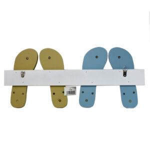 7166 flip flop coat rack back