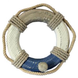 15459 Life Ring Navy Striped