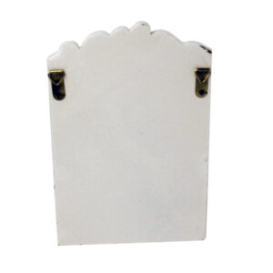 55957 Nautical Toilet Roll Holder Back