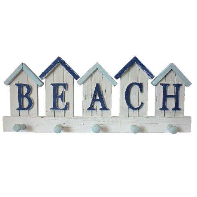 Beach Hut Coat and Towel Hooks