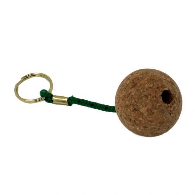 Green Floating Cork Keyrings