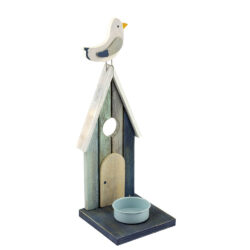 55823 Beach Hut Tea Light Candle Holder