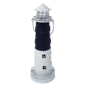 Metal Tealight Candle Lighthouse