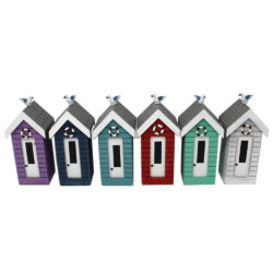 7376r Small Beach Hut Money Boxes