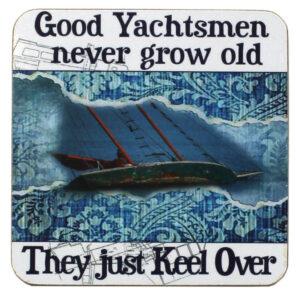 3387 Good Yachtsmen Drinks Coaster