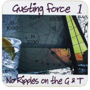 3388 Gusting Force 1 G & Drinks Coaster