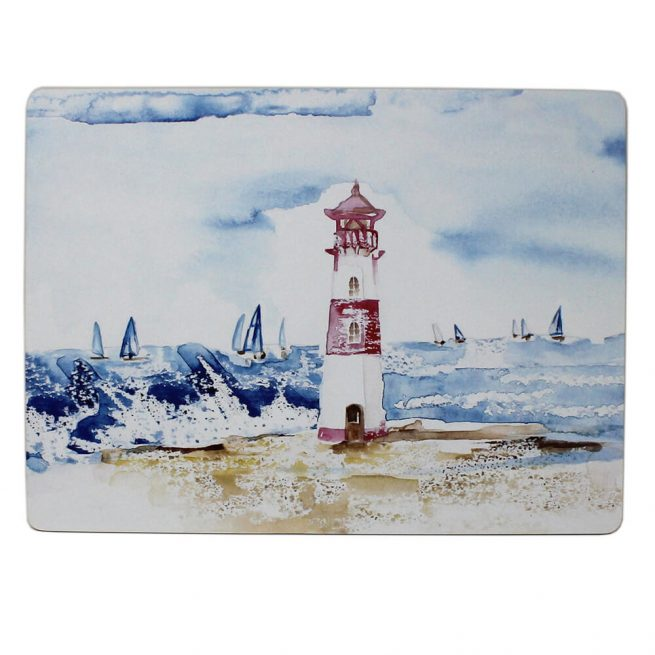 53034 coastal placemat lighthouse