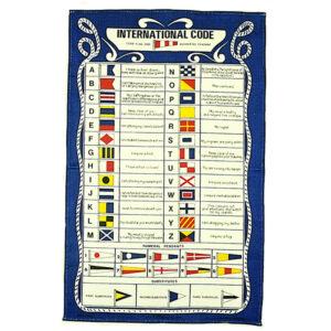 6132 International Code Flags