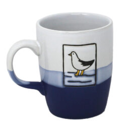78070 Nautical Blue Seagull Mug