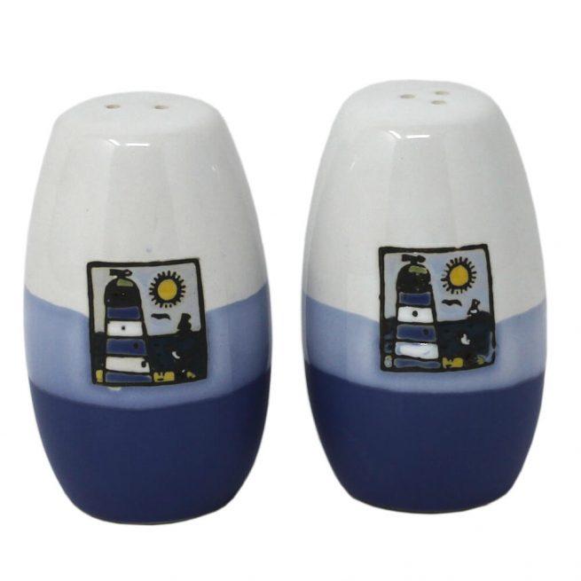 Nautical Lighthouse Salt & Pepper Pots