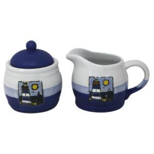 78650 Nautical Creamer and Sugar Pot