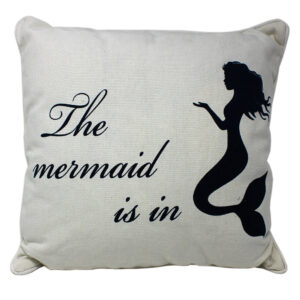 The Mermaid is in Cushion