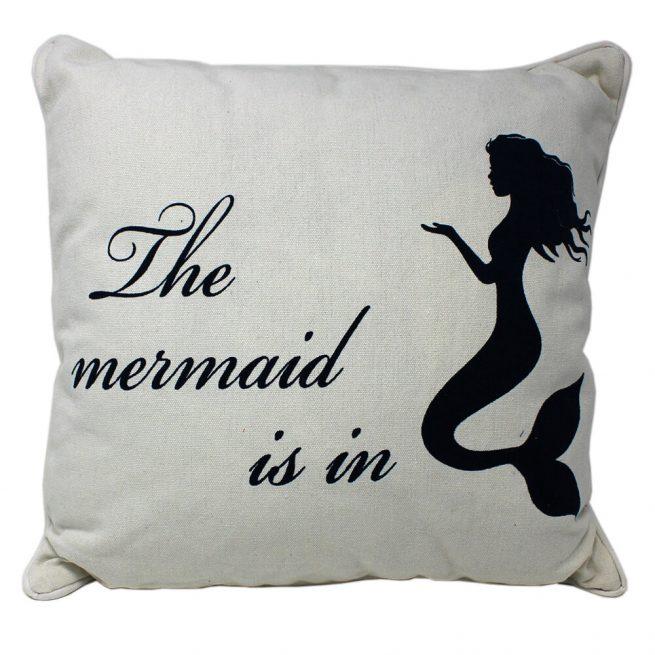 The Mermaid is in Cushion