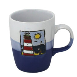 78669 Hanah Small Red Lighthouse Mug