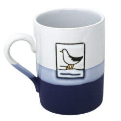 Hanah 78064 Blue and White Seagull Mug 450ml
