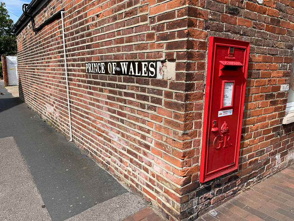 Prince of Wales Road and Post Box
