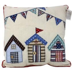 6546 Small Beach Hut Cushion